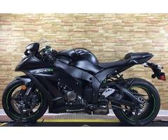 2015 Kawasaki Ninja ZX-10R in like new condition
