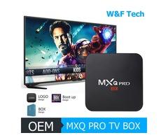 Hot MX2 MXQ PRO Amlogic S905W Quad Core Android 7.1 TV BOX With Customized 18.1 4K Media Player