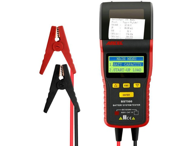 Ancel BST500 Car Battery Tester With Thermal Printer Detect Bad Battery Diagnostic Tool | free-classifieds-usa.com