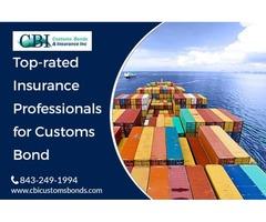 301 Customs Bond through Customs Broker