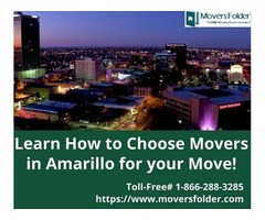 Learn How to Choose Movers in Amarillo for your Move