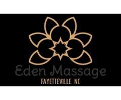 Deep tissue massage Fayetteville NC