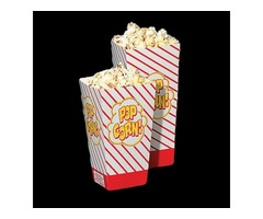 Get Deftest Quality Custom Pop Corn Boxes In Wholesale!
