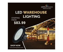 Buy New LED Warehouse Lighting Fixture On Sale