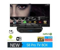 Hot selling S8 PRO Android 8.1 TV Box Amlogic S905W 18.1 1GB 8GB/2GB 16GB Better MXQ PRO T95M X96 MI