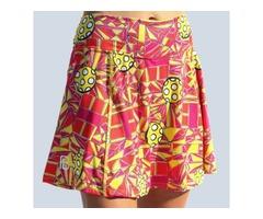 High Quality Fabrics Flat Seam Pickleball Skorts