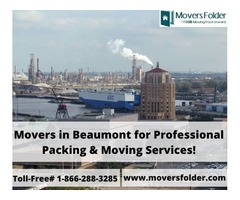 Movers in Beaumont for Professional Packing & Moving Services