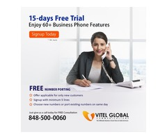 15-Days Free Trial Enjoy Our 60+ Business Phone Features
