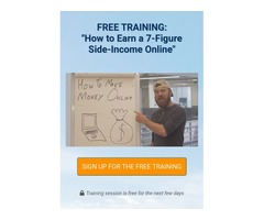 "FREE TRAINING: ""How to Earn a 7-Figure Side-Income Online"" by John Crestani"