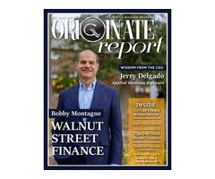 Mortgage Loan Originator Magazine - Originate Report