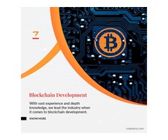 Blockchain Development Company | Codezeros