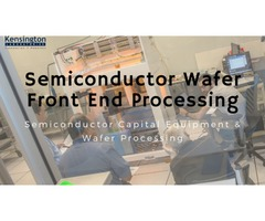 Semiconductor Capital Equipment & Wafer Processing