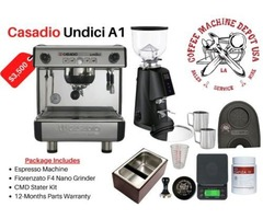 Buy best commercial espresso machines and coffee grinders online