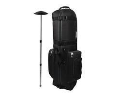 CaddyDaddy Golf CDYCON2GP Constrictor Grey with North Pole Golf Bag Travel Cover, Black/Grey