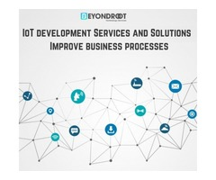 IoT development Services and Solutions | Improve business processes
