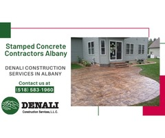 Decorative Vertical Stamping & Concrete Services In Albany