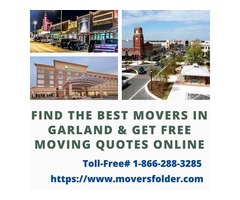 Find Best Movers in Garland & Get free Moving Quotes Online