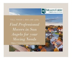 Find Professional Movers in San Angelo for your Moving Needs
