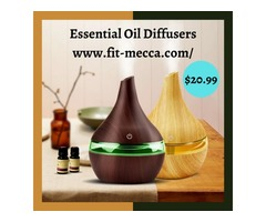 Essential Oil Diffusers are designed to be your most favorite home accessory