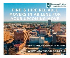 Find & Hire Reliable Movers in Abilene for your Upcoming Move