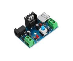 DC-DC 7-15V to 5V Power Supply Module 9V to 5V 12V to 5V with Heat Sink Switch Board