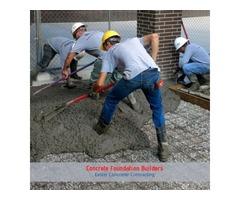 Concrete Foundation Builders