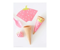 Get Hot Trendy Custom Cone Sleeves Boxes Wholesale!