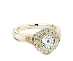 NOAM CARVER VINTAGE ENGAGEMENT RING - SKU: DENG4669