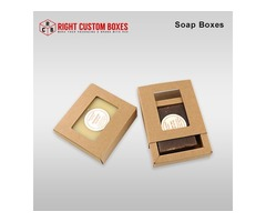 Order Amazing Custom Soap Boxes    Soap Packaging