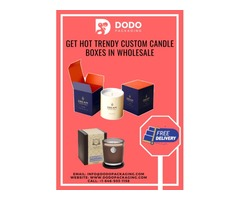 Get Quality Designed Custom Candle Packaging Wholesale!