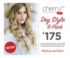 Hair Extensions - Cherry Blow dry Bar