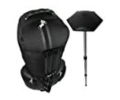 CaddyDaddy Golf Constrictor Golf Bag Travel Cover with North Pole Included