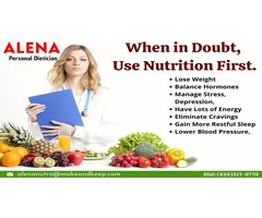When in doubt, use nutrition first.