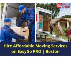 EasyGo PRO | How to reach out Best Moving Services in Boston?