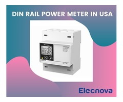 Din Rail Power Meter - Sfere-elec.net