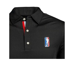 USAG Men's Golf Polo High Performance Golf Club Apparel Company