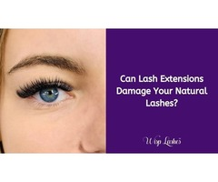 Can Lash Extensions Damage Your Natural Lashes?