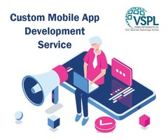 Custom Mobile App Development Service in New York by VSPL