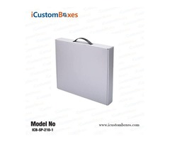 Get the 50% Discount on cardboard box with handle