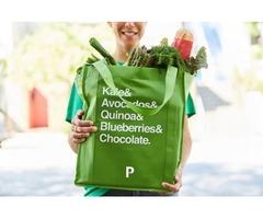 Deliver Man For Pronto Shopper Team