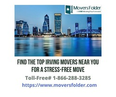 Find the Top Irving Movers near you for a Stress-free Move
