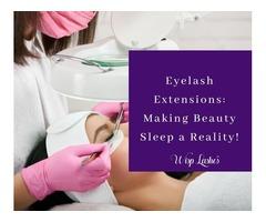 Eyelash Extensions: Making Beauty Sleep a Reality!