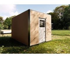 Pad 102 SQF, Modular Homes, Tiny House