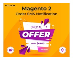 Buy Magento 2 SMS Order Notification Extension