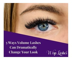 5 Ways Volume Lashes Can Dramatically Change Your Look