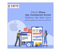 Top iOS iPhone App Development Service Company USA | X-Byte Enterprise Solutions