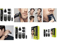 Braun MGK3020 Multi Grooming Kit – 6-In-One Face And Head Trimming Kit
