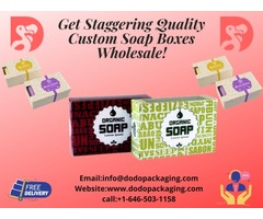 Make Yourself A Brand By Using Our Custom Soap Boxes In Wholesale!