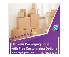 Get Your Packaging Done with Free Customizing Options – RegaloPrint
