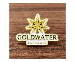 Gold Water Extracts Custom Lapel Pins